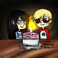 Happy Birthday Jade and Dave 2012 by xiao-tuna