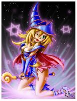 Dark Magician Girl by 14-bis