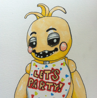 Toy Chica by DominoBear