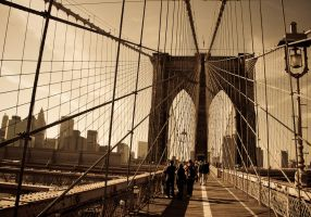 Brooklyn Bridge by DostorJ