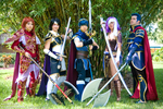 Fire Emblem at AFO 2011 by negativedreamer