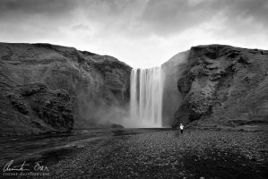 Skogarfoss, Iceland by Nightline