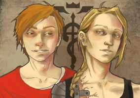 Ed and Al by z-nao-factor