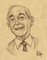 Ron Paul 2012 by Ambair