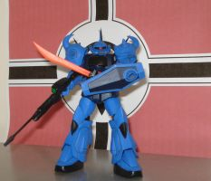 MS-07B Gouf Harm Custom by dog42a