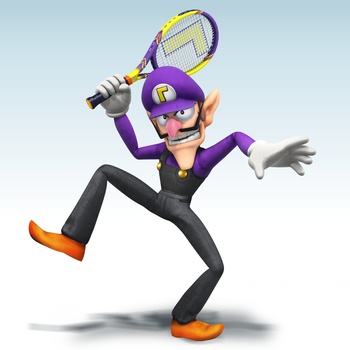 Smash4 Mod: Waluigi by Nibroc-Rock