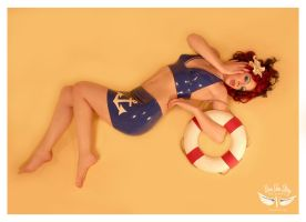 Adrianne Sailor Pinup by vivavanstory