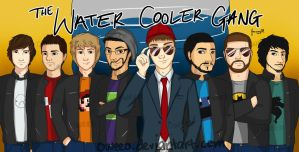 The Water Cooler Gang by Oweeo