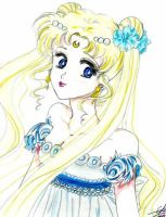 Princess Serenity - Sailor Moon by Pink--Mist