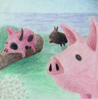 LoZ - Pigs. by ElliotShoe