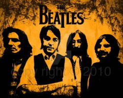 The Beatles in photoshop by hoodphotography