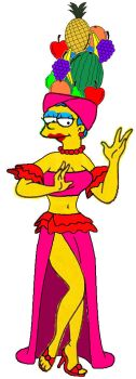 Marge as Carmen Miranda by Homey104