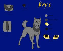 Krys Reference Sheet by Dragon-of-DC