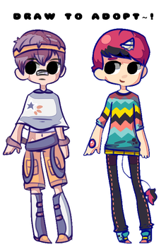 [LAST DAY!] (OPEN) Free Draw To Adopt Boys by CinammonAdopts