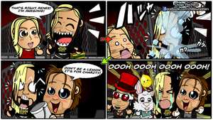 Seth Rollins and Dean Ambrose - WWE Comic Strip 12 by kapaeme