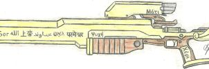 The Godhand Exotic Sniper Rifle/Commissioned by Chigiri16