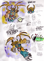 Unicron (Mega Crossover) Reference Sheet by warahi