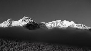 Misty Mountains by Miccighel