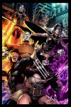X-MEN battle piece by DigitalCutti