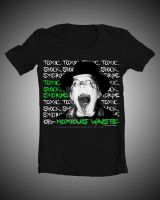TSS - Ob-Noxious Waste Band Shirt by kidswithscissors