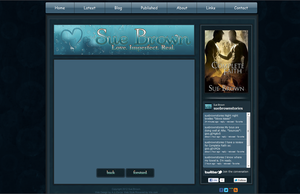 Sue Brown Website Graphics/Design by ajCorza
