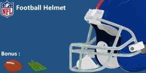 Football Helmet by Tardio