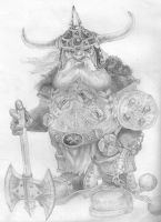 Discworld's Dwarf by IrritatedPau