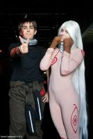 Deadman Wonderland: Ganta and Shiro by DeathWrathAngel