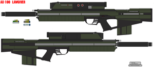AX-100 LAWGIVER by bagera3005