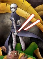 asajj ventress by katiecandraw
