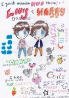 harry and louis by kiachan98