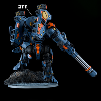 XV105 Tsunami Battlesuit Rear by Tau-Crisis