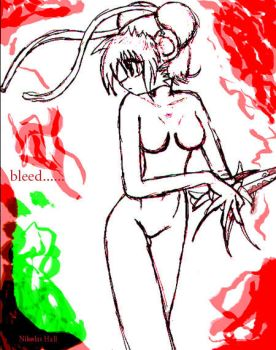 Bleed by nikmanic