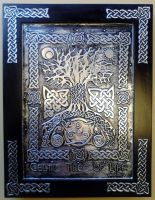 Celtic Tree Of Life by CacaioTavares