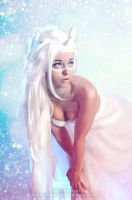 the Last Unicorn inspired 2 by ZOMBIEBITME