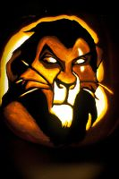 Scar Pumpkin by MichellePrebich