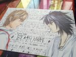Death Note: Light and L. by Shizu-ciaan