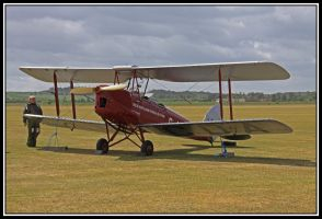 de Havilland Tiger Moth by lizzyr