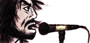 Dave Grohl Portrait by Tigrshark