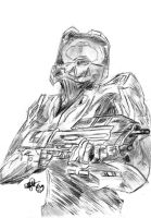 Master Chief by KORANenMERG
