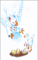 Togepi Togetic and Togekiss by 87Freeze