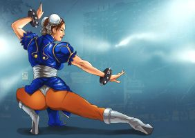 Commission: Chun LI by paneseeker