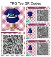 TRG Tee QR Codes by Rainbow-Hero