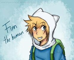 Finn the human by JaelynGS
