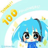 100 watchers :D by sunnymelodyy