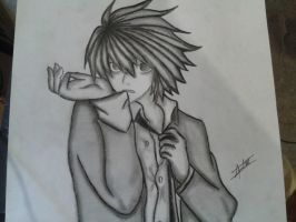 L Lawliet by tikitimami