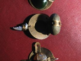 steampunk pendants together by bolt-for-home