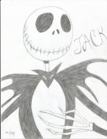 Jack Skellington by Beauty-To-Become