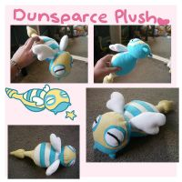 Pokemon DUNSPARCE pokedoll plush by SilkenCat