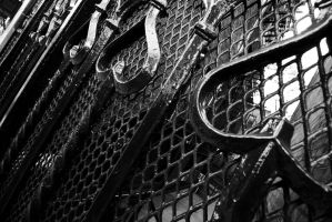 NYC Series - Gated Heart by Katastrophey